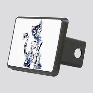 Sugar Skull Day of the Dea Rectangular Hitch Cover