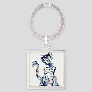Sugar Skull Day of the Dead Artsy Origin Keychains