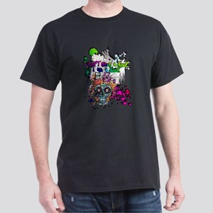 Sugar Skull Day of the Dead Artsy Original T-Shirt