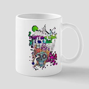 Sugar Skull Day of the Dead Artsy Original Ar Mugs