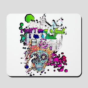 Sugar Skull Day of the Dead Artsy Origin Mousepad
