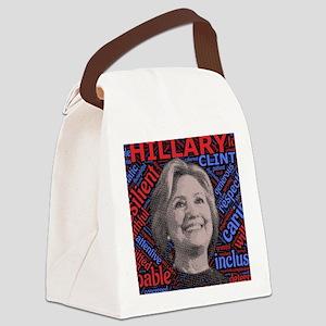 Hillary Clinton POTUS Canvas Lunch Bag