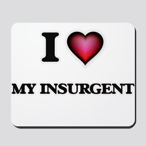 I Love My Insurgent Mousepad