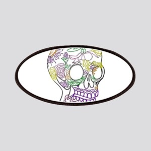 Sugar Skull Day of the Dead Artsy Original A Patch