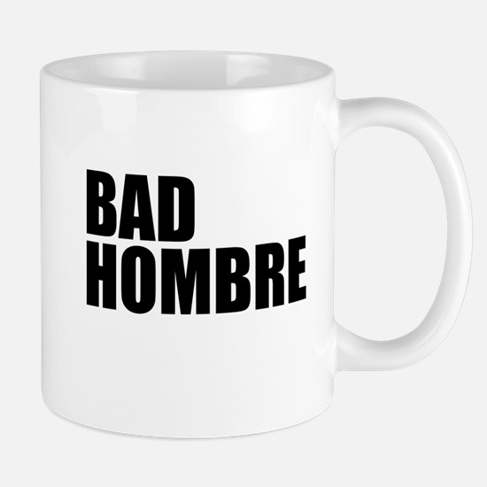 Bad Hombre stacked Mugs