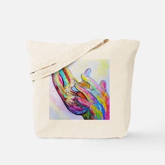 Unique Sign language interpreter art Tote Bag