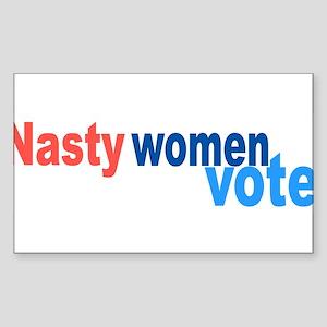 Nasty Women Vote Sticker