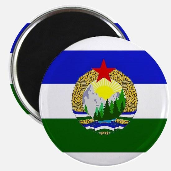Flag of Socialist Cascadia Magnets