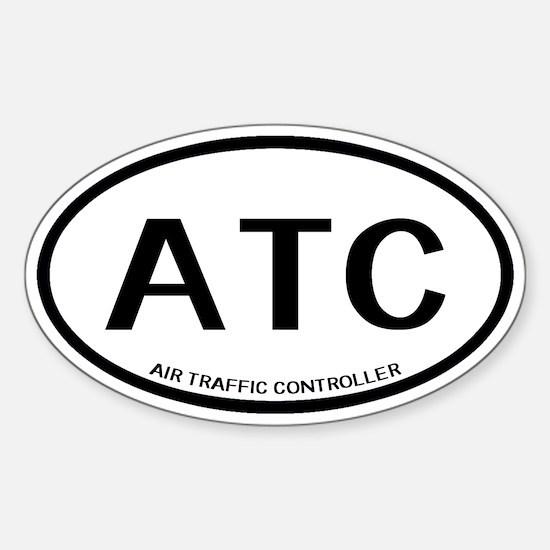 ATC: Air Traffic Controller ( Sticker (Oval 10 pk)