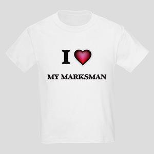 I Love My Marksman T-Shirt