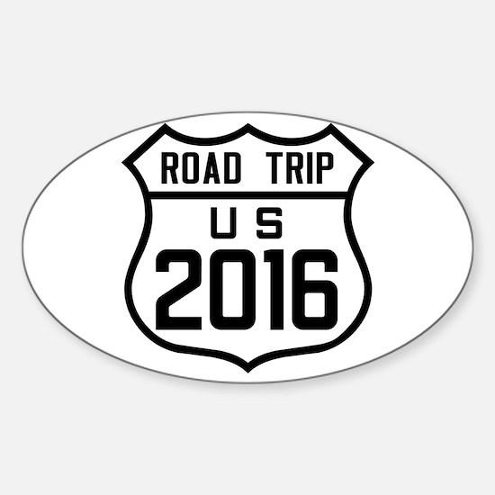 Road Trip US 2016 Decal