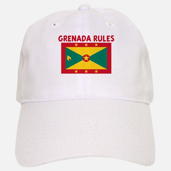 GRENADA RULES Baseball Baseball Cap
