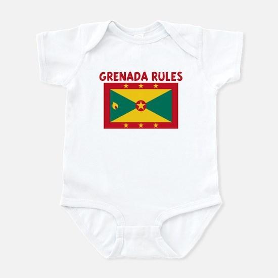 GRENADA RULES Infant Bodysuit
