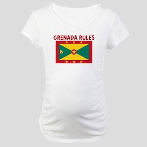 GRENADA RULES Maternity T-Shirt