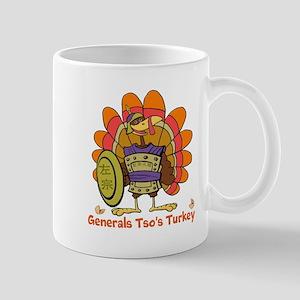 General Tsos Turkey Mugs