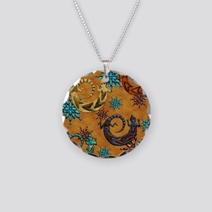 Harvest Moons Desert Geckos Necklace