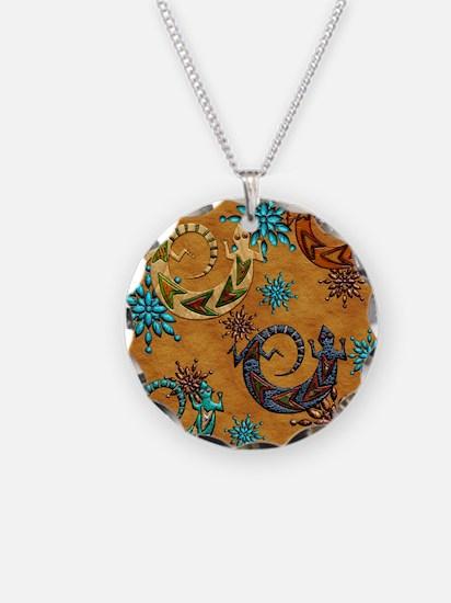 Harvest Moons Desert Geckos Necklace