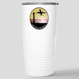ATC: Air Traffic Control Tower & Plane Travel Mug
