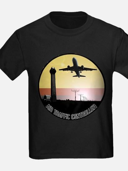 ATC: Air Traffic Control Tower & Plane T-Shirt