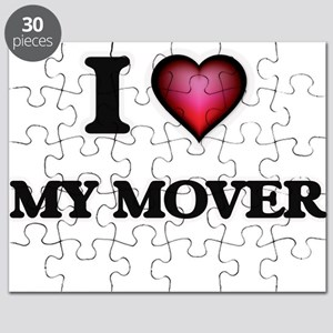 I Love My Mover Puzzle