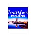 Frankfurt Mini Poster Print