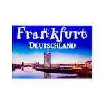 Frankfurt Rectangle Magnet (100 pack)