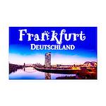 Frankfurt Rectangle Car Magnet