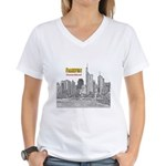 Frankfurt Women's V-Neck T-Shirt