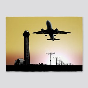 ATC: Air Traffic Control Tower & Plane 5'x7'Area R