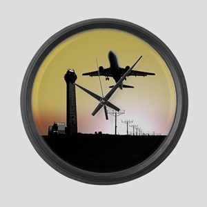 ATC: Air Traffic Control Tower & Plane Large Wall