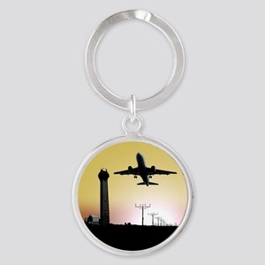 ATC: Air Traffic Control Tower & Plane Keychains