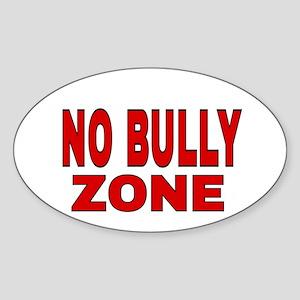 NO BULLY ZONE Sticker