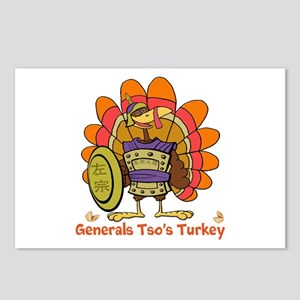 General Tsos Turkey Postcards (Package of 8)