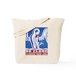 Baby Hygiene Vintage Tote Bag