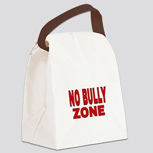 NO BULLY ZONE Canvas Lunch Bag