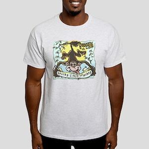 Spunky Little Monkey Light T-Shirt