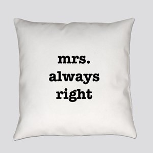 Mrs.Always Right Everyday Pillow