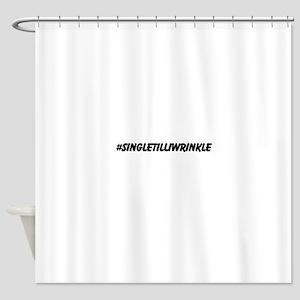 Single Till i Wrinkle Shower Curtain