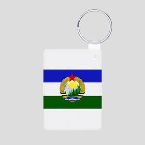 Flag of Socialist Cascadia Keychains