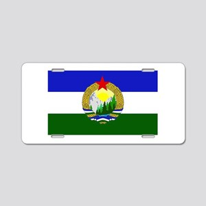 Flag of Socialist Cascadia Aluminum License Plate
