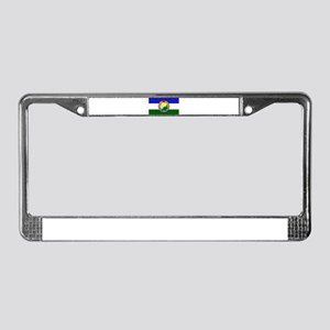 Flag of Socialist Cascadia License Plate Frame