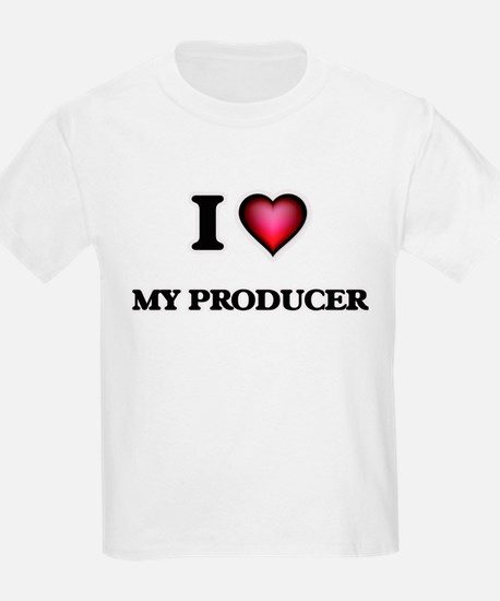 I Love My Producer T-Shirt