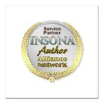 IAAN Partner Square Car Magnet 3