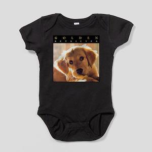 GOLDEN_PUPPY_FRAME Baby Bodysuit