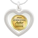 IAAN Affiliate Silver Heart Necklace