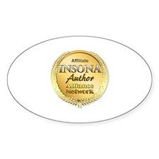 IAAN Affiliate Sticker (Oval)