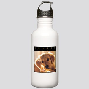 GOLDEN_PUPPY_FRAME Stainless Water Bottle 1.0L