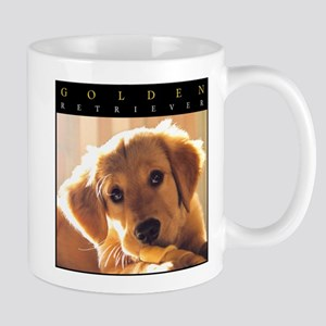 GOLDEN_PUPPY_FRAME Mugs