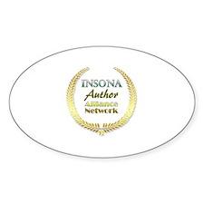 IAAN Circle Sticker (Oval)