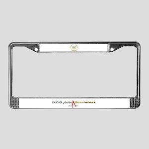 IAAN Circle License Plate Frame
